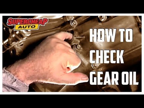 How To Checking Gear Box Oil Supercheap Auto Youtube