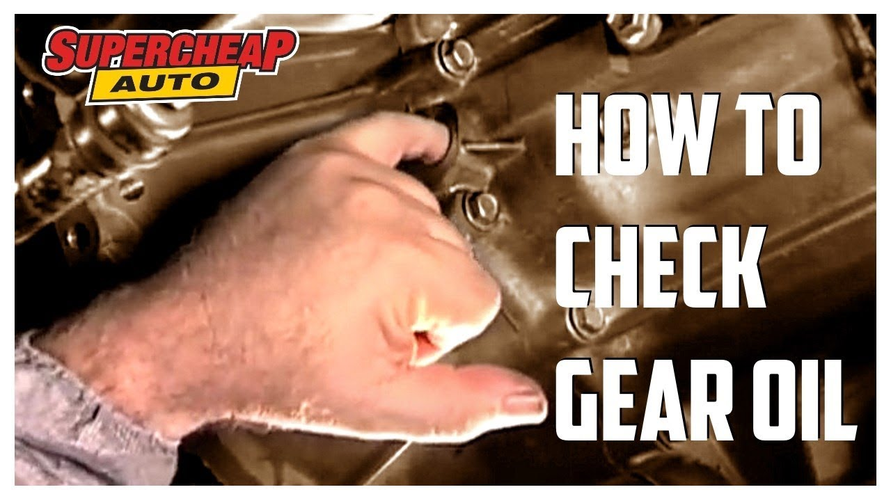How to - Check Gear Box Oil // Supercheap Auto