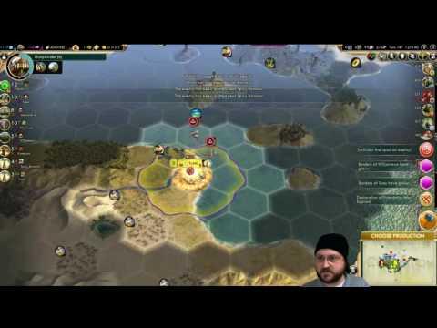 Civilization 5 - Walk like an Egyptian - Earth / True Start Location - Part 10
