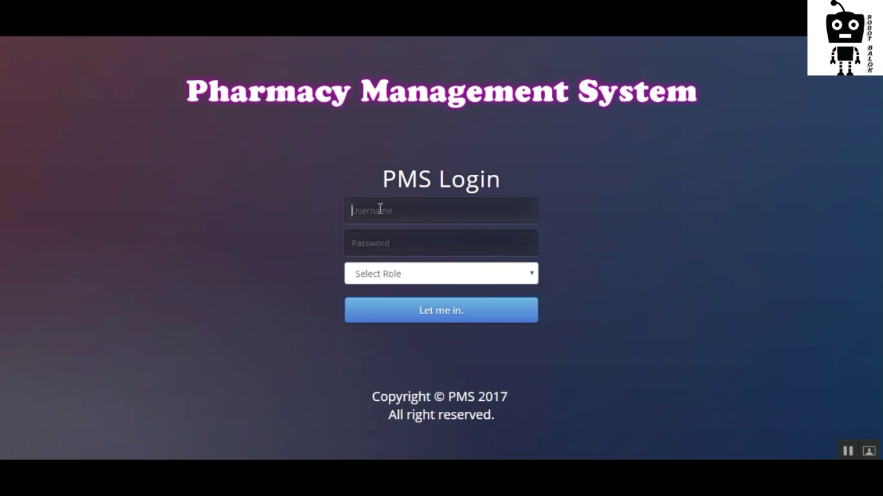 Pharmacy Management System Using Core Php Amp Mysql Project