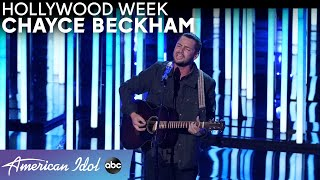 "Chayce Beckham's Rocky Past Year Leads Him To ""All Or Nothing"" Performance - American Idol 2021"