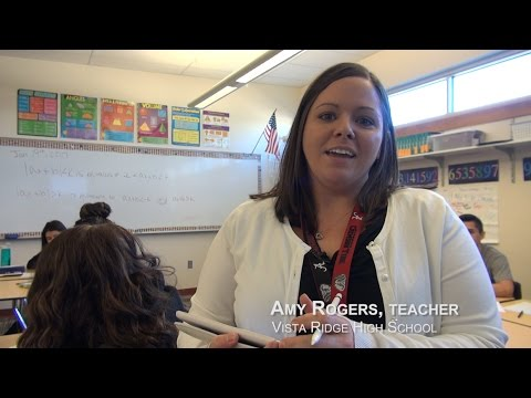 Amy Rogers, Math Teacher - Vista Ridge High School