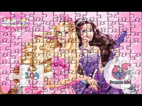 Nursery Jigsaw Puzzles Barbie Pop Star - Puzzle Kid