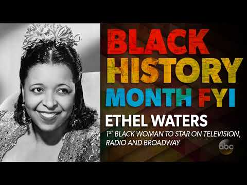 Black History Month FYI: Ethel Waters   The View
