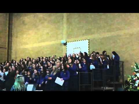 St Vincents class of 2014 graduation song  unwrit