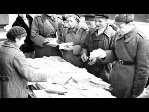 Блокада Ленинграда. «Блокадный метроном». Видео-арт