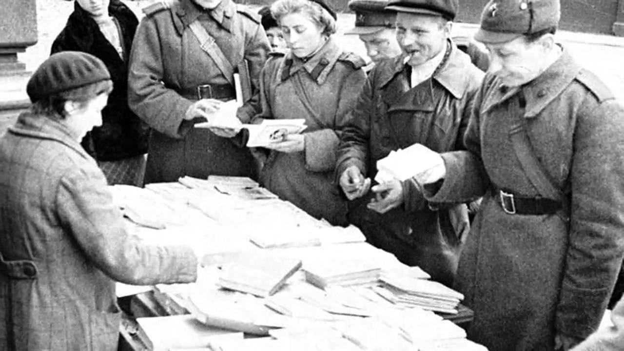 блокадный ленинград видео