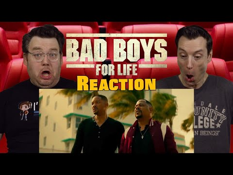 Bad Boys For Life – Trailer 2 Reaction / Review / Rating