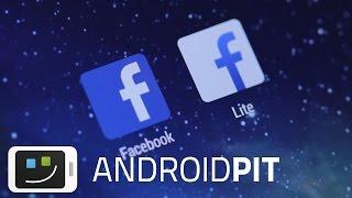Facebook Lite vs. Facebook: Der Vergleich(Hier findet Ihr den Artikel: http://www.androidpit.de/facebook-vs-facebook-lite-vergleich-apps Facebook Lite Download: http://goo.gl/LYHg75 Über uns: ..., 2015-01-30T16:51:53.000Z)