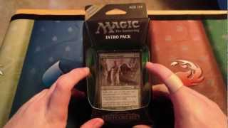 Magic 2013 Intro Pack Unboxing Part 5: Wild Rush (Green/Black)