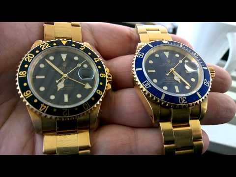 HIDE YOUR ASSETS AND RUN AWAY WITH GOLD ROLEX WRIST WATCHES