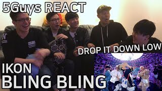 [DOPE AF] iKON - BLING BLING (5Guys MV REACT)
