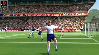Fifa 2000 - Gameplay PSX / PS1 / PS One / HD 720P (Epsxe)