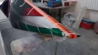 Carbon Canoe / Стык карбоновой байдарки как сделать!?
