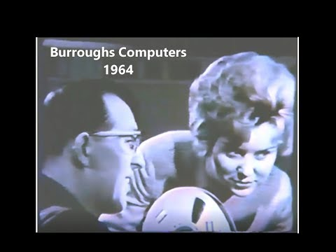 Burroughs Corporation 1964 Vintage Computer History -  ( B5000, B280, BUIC D825; Unisys, Mainframes)