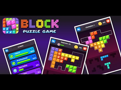 Block Puzzle Game - The best puzzle game 2019