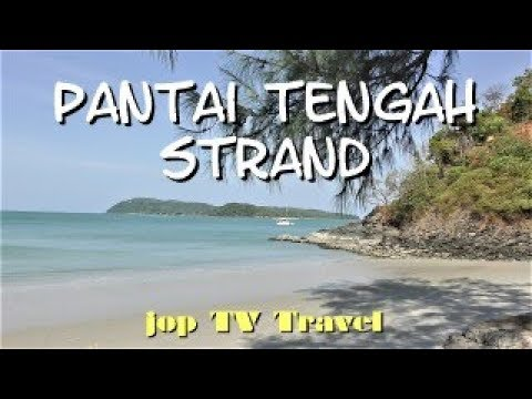 Spaziergang Am Pantai Tengah Strand (Pulau Langkawi) Malaysia Jop TV Travel
