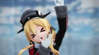 【艦これMMD】プリンツ・オイゲンが可愛らしく「ハートアラモード」 thumbnail