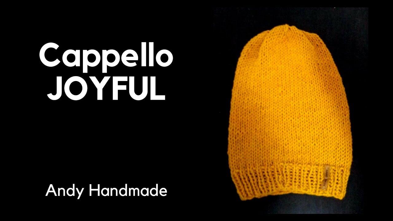 Cappello JOYFUL - ferri circolari - YouTube 5330ce1d76c5