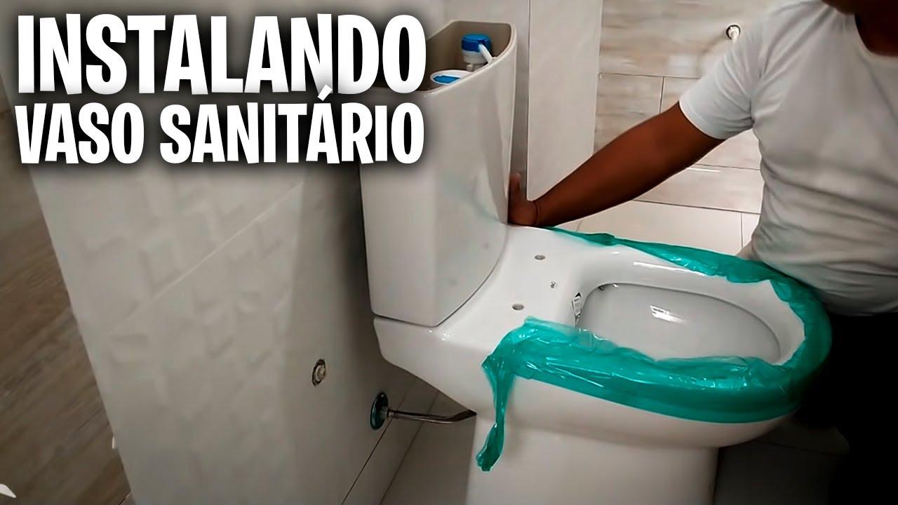 Download COMO INSTALAR VASO SANITÁRIO COM FIXAÇÃO LATERAL CELITE, DECA, SENSEA, INCEPA, PRISMA, ICASA, ROCA