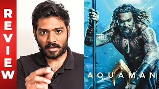 Aquaman Review by Maathevan | Jason Momoa, Amber Heard