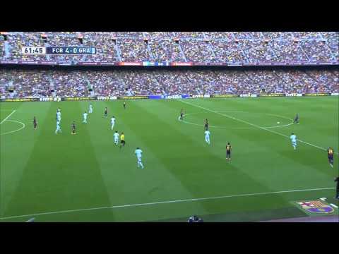 Gol 400 de L. Messi - Barcelona vs Granada