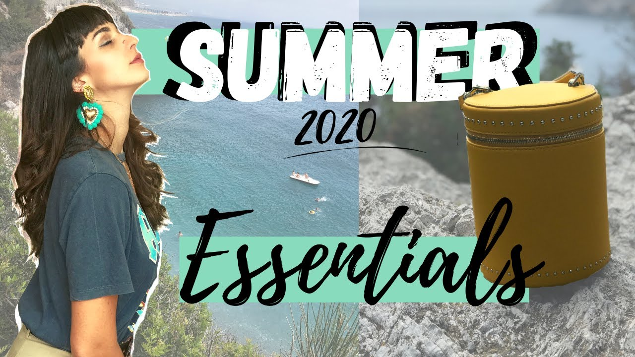 2020 SUMMER MUST HAVES