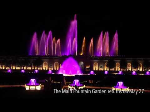 Sneak Peek Of Longwood Garden 39 S New Fountain Light Show Youtube