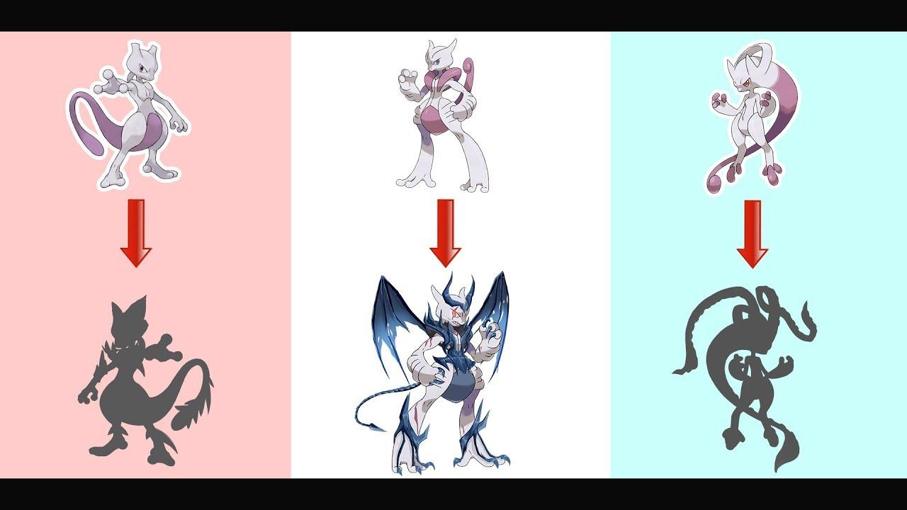 Mega mewtwo evolution as monster youtube - Mewtwo mega evolution ...