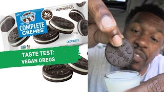 taste test: vegan Oreos (Lenny & Larry's) | hot for food