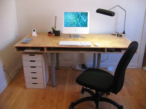 Remarkable Inspirations To Build Your Own Office Desk Design Ideas