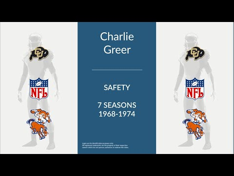 Charlie Greer: Football Safety