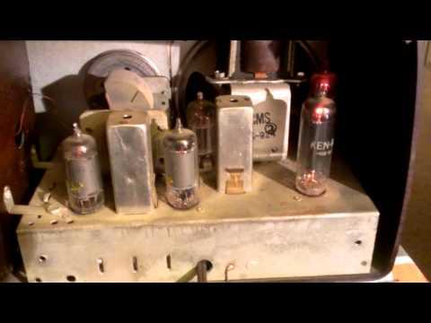 Antique Radio: Jewel model 956