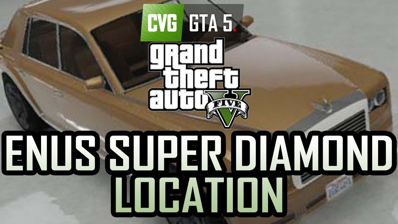 GTA 5 - Enus Super Diamond Location - Epsilon Car - YouTube