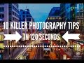 10 creative photography ideas & tips - take better pictures in 2 minutes