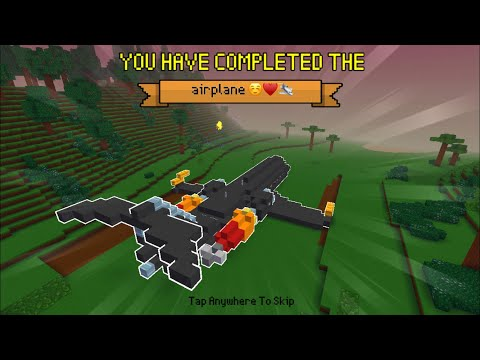 Block Craft 3D: Building Simulator Games For Free Gameplay#858 (iOS & Android)   Airplane 😊❤️✈️