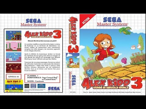 Alex Kidd 3 Curse in Miracle World