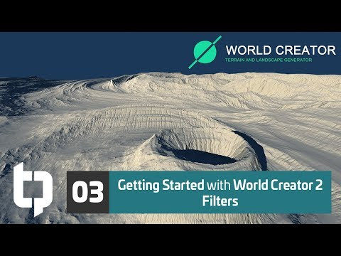 03 | Getting Started with World Creator 2 | Surface Filters