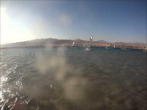 Windsurfing at Club Mistral Dahab