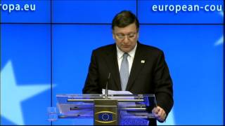 European Council - press conference