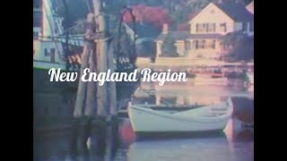 New England Region: Geography, Traditions, History