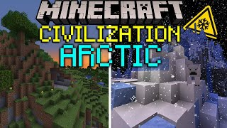 I Let 100 Players Create Civilization In The ARCTIC For 100 Days... Here's What Happened