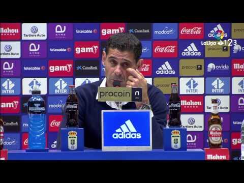 Rueda de prensa de Fernando Hierro tras el Real Oviedo vs Cádiz CF (2-1)
