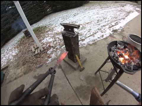 Learning Blacksmithing With Homemade Tools