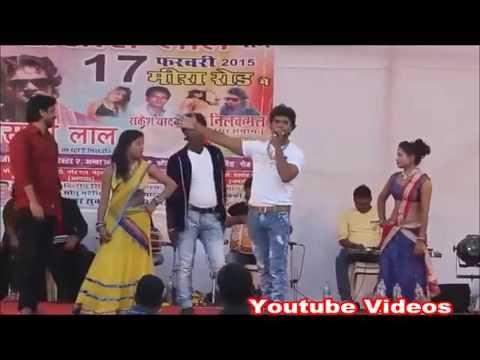 Khesari Lal Yadav Live Stage Show Performance 2015 in Meera Road Maharashtraon Bhojpuri song