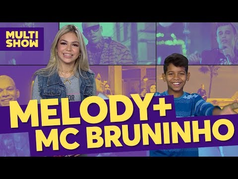 Melody + MC Bruninho  TVZ Ao Vivo  Música Multishow