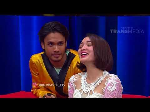 BOMBASTIS - Rendy Pangalila Pasrah Digoyang Sama Ratu Zaskia (16/11/17) Part 2