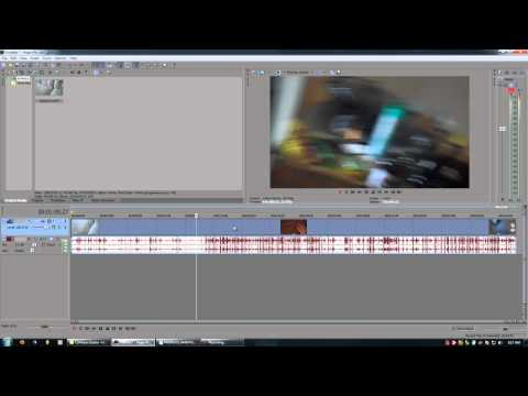 Sony Vegas Tutorials - 1.1 - Setting up your project