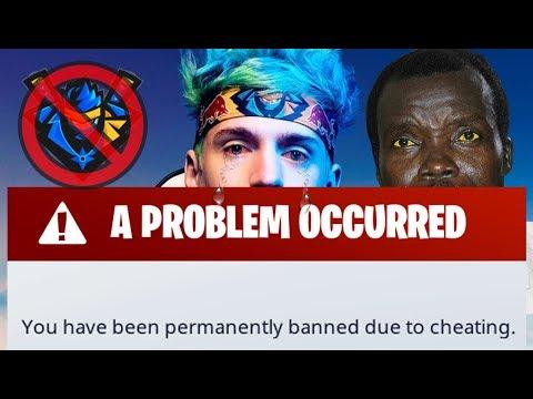 Ninja Finally Gets *BANNED* Fortnite  🚫!? (MAD African Rebel Kony)