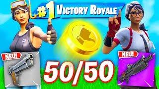*NEU* RANDOM 50/50 LOOT CHALLENGE in Fortnite Battle Royale!